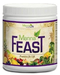 MannaFeast is a Whole Food Nutritional Supplement